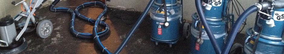 Leistungen › Asbest Sanierungen  K Ewert Bodenbeläge